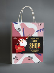 Colorful shopping paper bag mockup (nilayeasmin) Tags: advertise advertisement advertising bag blue brand brandname branding business colorful creative decorate design festive gift graphic gray graybackground grey handle isolated logo marketing minimal mockup name one paper paperbag pattern pink present presenting product psd shopping shoppingbag showing strategy template tradename trademark
