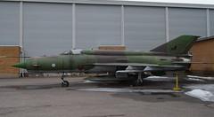 """Retired"" (Seppo53) Tags: madeinussr vintage fighter plane outdoor exhibition finland vantaa finnishairforce mig21 aviationmuseum"
