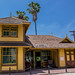 Southern Pacific/Pacific Electric station from the Palms, CA