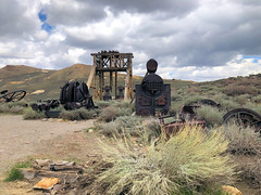 Bodie State Historic Park (valeehill) Tags: oths overthehillsisters roadtreking bodie ghosttown miningtown bodiestatehistoricpark california headframe miningequipment