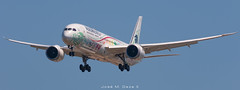 "Aeromexico B787-9 XA-ADL ""Quetzalcoatl"" livery (José M. Deza) Tags: 20190616 aeromexico b7879 bcn boeing elprat lebl planespotting quetzalcoatl spotter xaald aircraft"