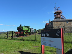 Big Pit (mike_j's photos) Tags: pontypoolblaenavon barclay 1680 nora no5 bigpit blaenavon wagon tower winding coal mining museum
