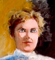 Lizzie Borden (kevin63) Tags: art artpal ondemandprint coffeemug lightner photoshop painting woman lizzyborden accused axe murderess acquitted old vintage victorian antique