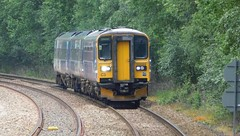 153324 & 158793 - Mytholmroyd, Yorkshire (The Walsall Spotter) Tags: mytholmroyd yorkshire class153 sprinter dmu 153324 class158 158793 uk multipleunit networkrail britishrailways
