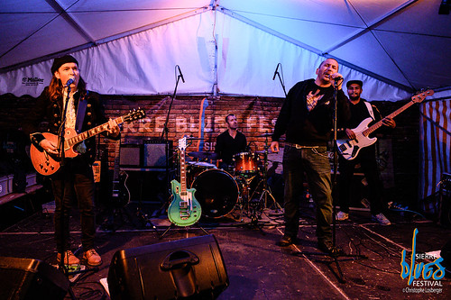 Rod Barthet & the Blue Catfish @ Sierre Blues Festival