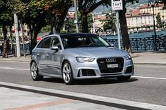 Switzerland (Ticino) - Audi RS3 Sportback 8V (PrincepsLS) Tags: switzerland swiss license plate lugano spotting ti ticino audi rs3 sportback 8v