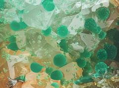 12_Malachit-of-Quarz_Grube-Clara_Germany-169B_MPLan10_M10zu1_1.73mm_Desing-Lieberkuehn_1flash (bernardo7777) Tags: jörg bernhard klemmer kristalle grube clara wolfach germany olympus stacking stack stackshot nikon makro mineralien mplan 10x