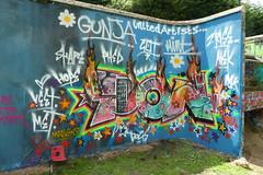 Don, Grenfell graffiti jam, Trellick Tower (duncan) Tags: graffiti trellick trellicktower grenfell grenfelltower