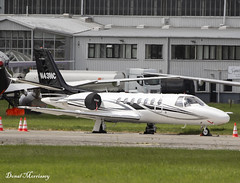 Citation Encore LLC. Cessna 560 Citation N43NC (birrlad) Tags: shannon snn international airport ireland aircraft aviation airplane airplanes bizjet private passenger jet parked apron ramp n43nc cessna 560 citation encore c560 llc
