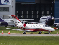 Mild Air LLC. Cessna 525B CitationJet CJ3 N825MD (birrlad) Tags: shannon snn international airport ireland aircraft aviation airplane airplanes bizjet private passenger jet parked apron ramp n825md inc 525b c25b cessna mild air llc citationjet cj3