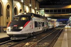 TGV PSE 65 pour les 30 ans du TGV (Alexoum) Tags: tgv sncf 30ans expo lyon perrache nuit special train railway gare
