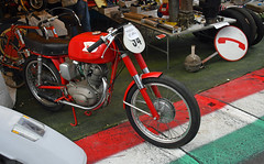 Moto Morini GT 175 cc racing # 34 (baffalie) Tags: moto ancienne vintage classic old bike motorbike retro expo italia sport motocycle racing motor show collection club course race circuit italie bologna fiera