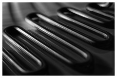 Macro Mondays  #Curves (T.Seifer : )) Tags: macromondays curves steel blackandwhite blackwhite hmm view macro nikkor monochrome