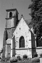 Eglise St-Lubin de Brou - Eure-et-Loir (Philippe_28) Tags: brou 28 eureetloir france europe argentique analogue camera photography photographie film 135 église church