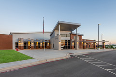Wylie East Elementary School (Wade Griffith) Tags: 2019 abilene june ltd tx wbkiblerconstructioncompany wylieeastelementaryschool architecture cafeteria classroom exterior gym lake library lockers longcorridors loungearea office playground restroom