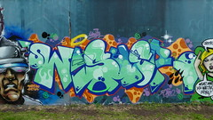 Wisher, Grenfell graffiti jam, Trellick Tower (duncan) Tags: graffiti trellick trellicktower grenfell grenfelltower wisher