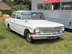 LLB 751D - 1966 Vauxhall Cresta (quicksilver coaches) Tags: vauxhall cresta pb llb751d stockwoodpark luton