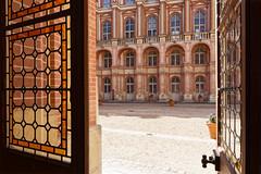 Royale perspective (Guillaume DELEBARRE) Tags: castle château saintgermain windows door vitraux canon tamron1530 architecture france