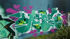 Merc, Grenfell graffiti jam, Trellick Tower (duncan) Tags: graffiti trellick trellicktower grenfell grenfelltower