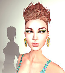 LuceMia - Swank Event (2018 SAFAS AWARD WINNER - Favorite Blogger -) Tags: swankevent slackgirl shadow catwa head makeup catwahead catshad25 jewelry geoemeraldgreen letitutier hair raminhair event tryskamoonaccessories sl secondlife mesh fashion creations blog beauty hud colors models lucemia