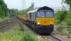 Double Headed Sheds (The Walsall Spotter) Tags: directrailservices class66 diesel locomotive 66423 dbschenker uk freight waterorton warwickshire toton northyard bescot upengineers britishrailways networkrail