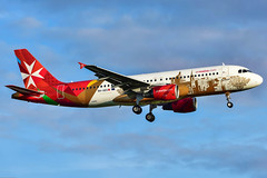 Airbus A320-200-9H-AEO-Air Malta (Air Spotter Madrid) Tags: islacittainvictalsdvallettaeuropeancapitalofculture2018 malta transporte airbus boeing vacaciones fotos vuelos iberoamérica aeropuerto spotter aeronáutica navegación aérea cruceros transport holidays vacation photos flights latin america airport aeronautics air navigation tokyo narita nrt international japan aircraft aviation airplane airplanes airline airliner airlines airways taxi taxiway takeoff departing departure runway yearimdang why livery colour scheme decals titles special tw212 daegu avión cielo edificio cabina de mando
