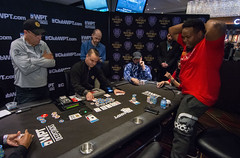 Fabian Foster eliminates Dan Chalifour (World Poker Tour) Tags: worldpokertour deepstacks wpt poker seminolehardrocktampa season18 2019 tampa fl usa