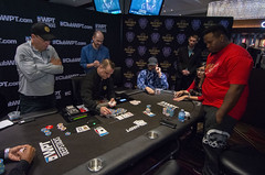Dan Chalifour all in vs Fabian Foster (World Poker Tour) Tags: worldpokertour deepstacks wpt poker seminolehardrocktampa season18 2019 tampa fl usa