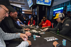 Dan Chalifour doubles thru Mark Scacewate (World Poker Tour) Tags: worldpokertour deepstacks wpt poker seminolehardrocktampa season18 2019 tampa fl usa