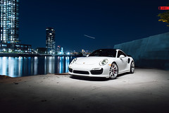 ANRKY Wheels - Porsche 991 Turbo S - AN38 SeriesTHREE (anrkywheels) Tags: anrky anrkywheels porsche 991tt 991tts an38cl carrera turbo michelin supersport forged customwheels new york jersey skyline milledfresh hre wheel hrewheels lifestyle wheels rims