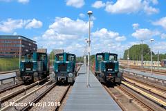 RET loc 6101+6001+6102 remise 's Gravenweg 17-06-2019 (Marco Verzijl) Tags: ret 6001 6101 6102 gmeinder gravenweg werkzaamheden locomotieven