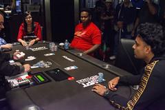 Wendy Vo eliminates Saj Illikan (World Poker Tour) Tags: worldpokertour deepstacks wpt poker seminolehardrocktampa season18 2019 tampa fl usa
