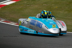 British Sidecar Championship - Biggs-Schmitz ({House} Photography) Tags: bsb british superbikes bikes motorcycle motorbike race racing motorsport motor sport canon 70d housephotography timothyhouse sigma 150600 contemporary two wheels big brands bash king molson group sidecar championship