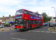 GAL PVL284 - PJ02RCU - NSF - TIMBERCROFT LANE WOODLANDS ESTATE - MON 17TH JUNE 2019 (Bexleybus) Tags: goahead go ahead london pvl284 pj02rcu volvo b7tl plaxton president tfl route 291 rare woodlands estate plumstead common timbercroft lane se18