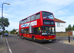 GAL PVL284 - PJ02RCU - GARLAND ROAD WOODLANDS ESTATE - MON 17TH JUNE 2019 (Bexleybus) Tags: goahead go ahead london pvl284 pj02rcu volvo b7tl plaxton president tfl route 291 rare woodlands estate plumstead common garland road se18