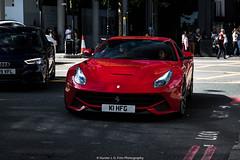 F12 (Hunter J. G. Frim Photography) Tags: supercar london ferrari f12 berlinetta red rosso corsa v12 italian carbon coupe ferrarif12 ferrarif12berlinetta