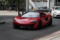 Wing (Hunter J. G. Frim Photography) Tags: supercar london mclaren 570s red british turbo v8 mclaren570s