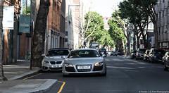 Daily Driven (Hunter J. G. Frim Photography) Tags: supercar london audi r8 v10 coupe black silver awd german audir8 audir8v10