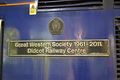 Great Western Railway HST 43024 Great Western Society 1961 - 2011 Didcot Railway Centre (Will Swain) Tags: london paddington station 12th january 2019 south greater city centre capital train trains rail railway railways transport travel uk britain vehicle vehicles england english europe great western hst 43024 society 1961 2011 didcot 24 class 43
