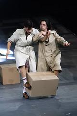 Soralino Company (iceflo) Tags: juggling circus paris boxes cirquededemain