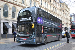 National Express West Midlands 6783 SN66WCF (Will Swain) Tags: birmingham 14th january 2019 west midland midlands city centre bus buses transport travel uk britain vehicle vehicles county country england english nxwm nx national express 6783 sn66wcf