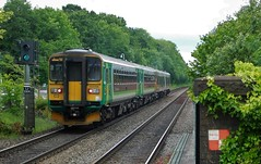 The Kidderminster Combo (The Walsall Spotter) Tags: widneymanor railway station class153 sprinter dmu 153356 153371 class170 turbostar 170504 warwickshire britishrailways networkrail uk multipleunit