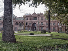 "Casa Rosada (""Casa de Gobioerno"" or ""House of Government"") HDR (Nanooki) Tags: argentina buenosaires 16 nikhdrefexpro2 southamerica ©suelambertlrpscpagb plazademayo hdr"