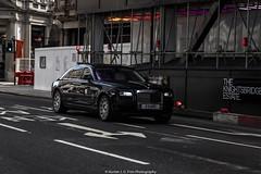 Ghost (Hunter J. G. Frim Photography) Tags: supercar london rolls royce ghost sedan 4door black british turbo v12 awd luxury rollsroyceghost