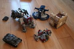 Wips (Fritz&FroggiesBrick) Tags: wip atte lego swampspeeder stug 3 aat house