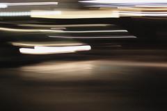 the night (Laura Girona) Tags: fast movement light flashlight car scary blur blurred dark darkness night creepy aesthetic sad shadows ghost grain black white photography moved move bright noise monochromatic monochrome