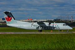 C-GEWQ (Air Canada express - JAZZ) (Steelhead 2010) Tags: aircanada aircanadaexpress jazz dehavillandcanada dhc8 creg yyz cgewq dhc8300