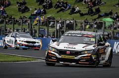 Matt Neal & Colin Turkington BTCC Croft 2019 (DarrenA.) Tags: btcc british touring car championship 2019 croft circuit honda civic bmw 3 series matt neal colin turkington