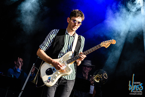 Manu Hartmann & the City Blues Band @ Sierre Blues Festival