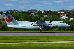 C-GONY (Air Canada express -JAZZ) (Steelhead 2010) Tags: aircanada aircanadaexpress jazz dehavillandcanada dhc8 creg yyz dhc8100 cgony